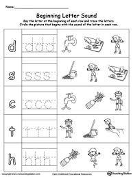 free worksheets beginning letter worksheets kindergarten free