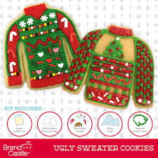 sweater cookie cutter amazon com in the mix cookie kit sweater 11 5 ounce