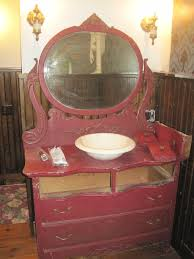 Old Dresser Bathroom Vanity Ella Mae U0027s Antique Dresser As Bathroom Vanity