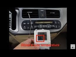 2006 honda odyssey problems honda odyssey ac problem drivers side warm passenger side cold