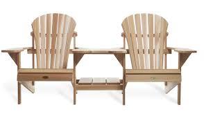 Cedar Patio Furniture Sets - adirondack tete a tete by all things cedar adirondack furniture