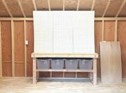 pegboard kitchen ideas pegboard storage ideas shed storage ideas worktable home depot