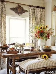 dining room french country curtains beautiful french country