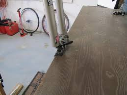 Really Cheap Laminate Flooring A Really Really Cheap Repair Stand Mtbr Com