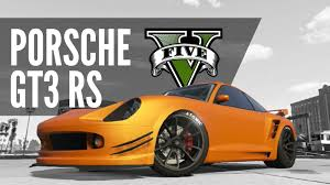 porsche gt3 rs yellow comet pfister porsche gt3 rs build gta5 youtube