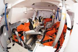 space seating crewed spaceflight if a human is being sent to space in a rocket