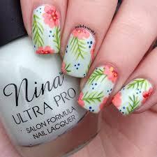 best 20 hibiscus nail art ideas on pinterest tropical flower