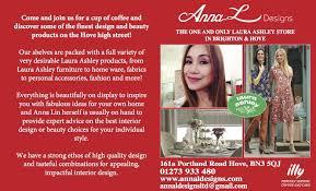 anna l designs interior design store u0026 café hove