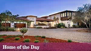 Spanish Colonial Homes by Home Of The Day A Romantic Spanish Colonial In Montecito La Times