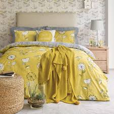 Dunelm Mill Duvet Covers Elements Sunflower Yellow Duvet Cover And Pillowcase Set Dunelm