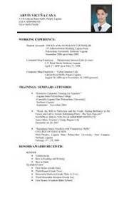 format of making resume executive resume advice