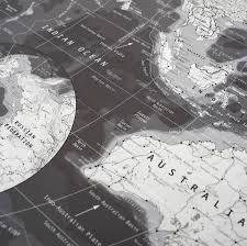 Map Of The World Black And White by Black And White World Map By The Future Mapping Company