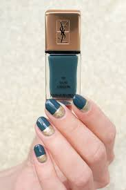 ysl fur green swatches review green and gold nails sonailicious