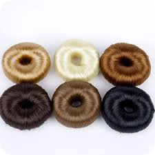 donut hair bun aliexpress buy bun shaper donut hair covered bun ring blends