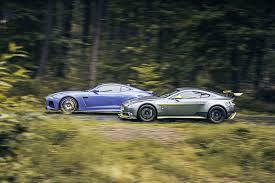 lexus dismantlers uk aston martin vantage gt8 vs jaguar f type svr twin test review