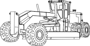 7 images of excavator coloring pages to print excavator coloring