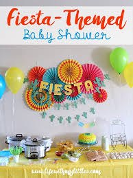for a baby shower how to throw a themed baby shower with my littles