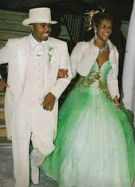 non white wedding dresses who wore non white wedding dresses nas kelis wedding 6