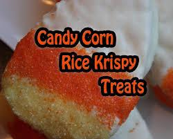 candy corn rice krispy treats halloween recipe youtube