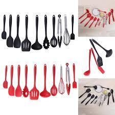 ustensile de cuisine silicone 10 pcs ensemble cuisine outils de cuisson en silicone outils