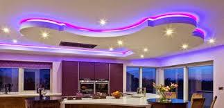 Led Ceiling Strip Lights by Led False Ceiling Lights For Living Room Led Strip Lighting Ideas