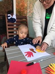 thanksgiving toddler turkey footprint u0026 handprint easy thanksgiving craft idea for