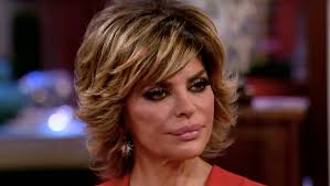 back view of lisa rinna hairstyle lisa rinna tearfully walks off rhobh reunion i don t need to