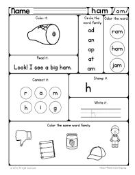 word families worksheets 3rd grade mediafoxstudio com