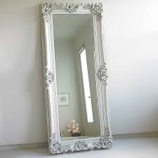 Bedroom Wall Mirrors Vintage Wall Wood Frame Full Length Mirror Doherty House Ideal Wood