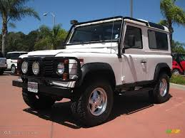 1997 land rover defender 90 1997 alpine white land rover defender 90 hard top 14148604