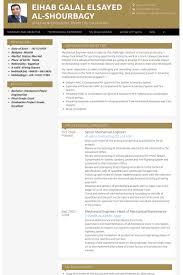 Resume For Mechanical Engineer Senior Mechanical Engineer Resume Samples Visualcv Resume