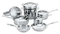 Cuisinart Dishwasher Safe Anodized Cookware Cuisinart Chef U0027s Classic Stainless Steel Cookware