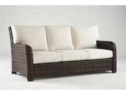 Outdoor Sofa Cushion South Sea Rattan St Tropez Wicker Cushion Sofa 79303