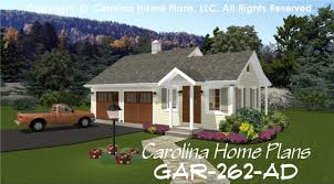 country style garage workshop plan gar 262 ad sq ft small budget