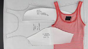 How To Make I How To Create Patterns From Existing Clothing Simple Tops Youtube