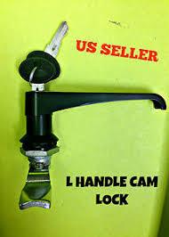 cabinet keyed cam lock l handle latch key cam lock keyed alike black cabinet box panels
