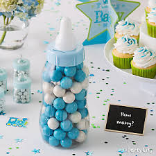 blue baby shower blue safari boy s baby shower ideas party city