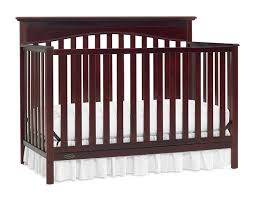nursery cherry wood crib for elegant baby bed design