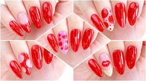 5 nail art designs using only 1 nail polish youtube