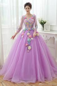 halloween costumes for 4 people 100 real light blue light purple flower long sleeve carnival ball