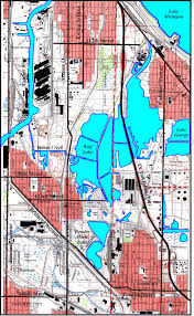 Chicago Area Zip Code Map by Maps Calumet Environmental Resource Center Chicago State