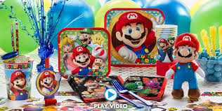 mario party supplies mario birthday ideas party city