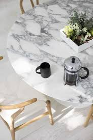 White Marble Dining Tables 10 White Marble Dining Tables You U0027ll Adore