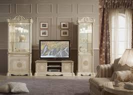 Wohnzimmer Italienisch Vitrine 2 Trg Great Weiss Silber Italienisch Klassik Barock