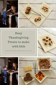 easy thanksgiving treats to make with eclectic
