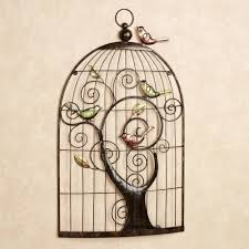 enchanting sonnet birdcage metal wall art