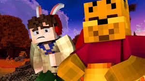 winnie the pooh halloween night minecraft roleplay 1 youtube