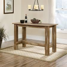Oak Table L Counter Height Dining Table In Craftsman Oak 416698