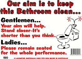 keep the bathroom clean toilet sign 190 keep this bathroom clean signs