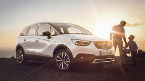 crossland x and grandland x the suv of opel in 2017 american